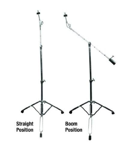 GP Percussion CBS1018 Professional Boom Arm Combo Cymbal Stand