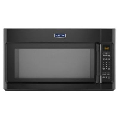 2.0 Cu. Ft. 1000W Over-the-Range Microwave with Sensor Cooking Finish: Black by Maytag