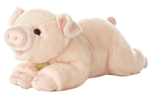 "Aurora World Miyoni Pig 16"" Plush"