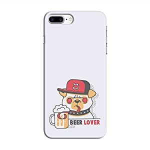 Cover It Up - Beer Dog iPhone 7 Plus Hard Case