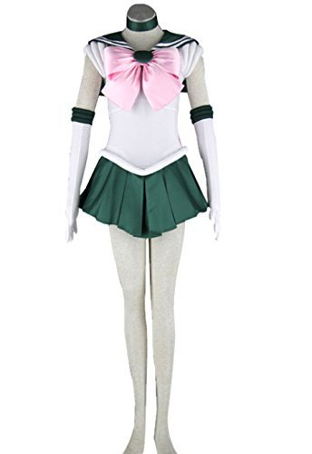 Another Me Anime Sailor Moon Makoto Kino Jupiter Cosplay Costume Female size Small