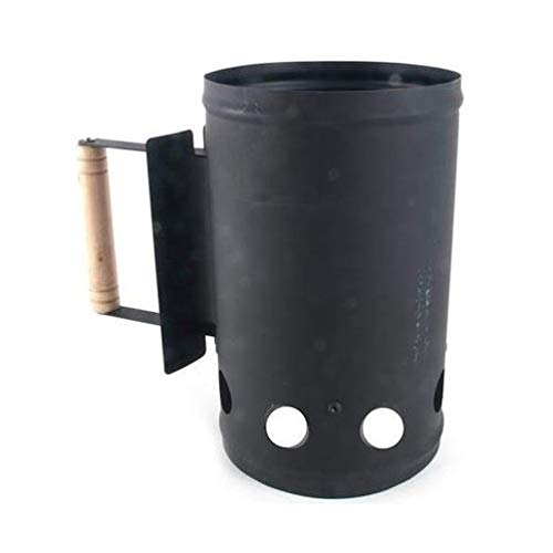 Dark Lux Chimney Style Charcoal Starter, 10.5