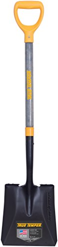Point Shovel Wood Handle - The Ames Companies, Inc 2586000 True Temper D-Grip Transfer Shovel with Wood Handle