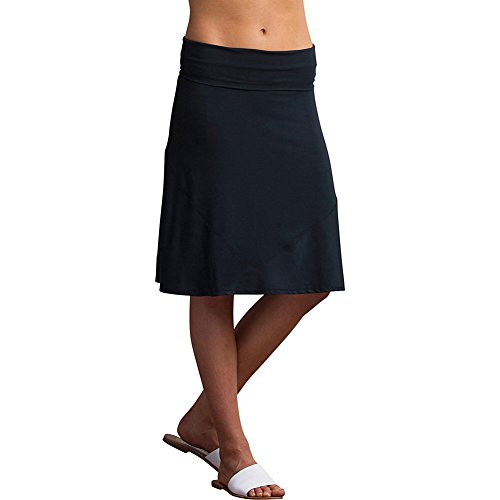 - ExOfficio Women's Wanderlux Convertible Skirt, Black, Black, X-Large