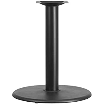 Flash Furniture 24u0027u0027 Round Restaurant Table Base With 4u0027u0027 Dia. Table