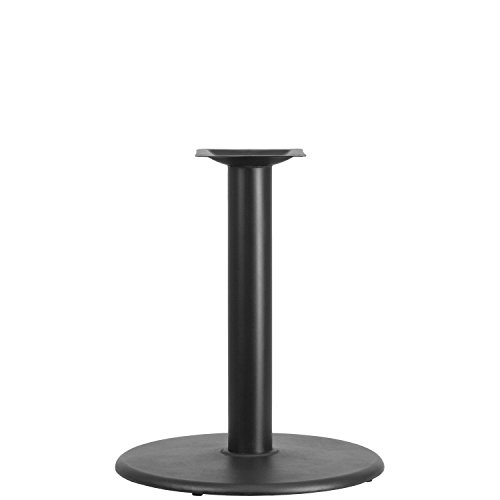 Flash Furniture 24'' Round Restaurant Table Base with 4'' Dia. Table Height Column