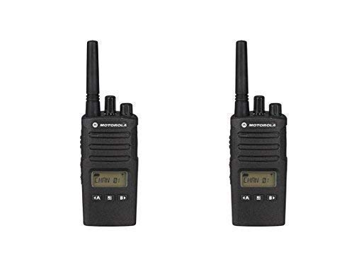 2 Pack of Motorola RMU2080d Business Two-Way Radio LED Display 2 Watts//8 Channels