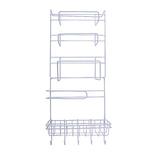 Refrigerator Storage Rack With New Design, Multi Function Fridge Wall Hanging Storage Rack Sidewall Layer Shelf - Storage Rack Organizer, Fridge Organizers, Magnetic Refrigerator Rack
