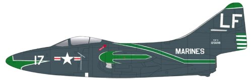 (Falcon Models 1/72 F9F-5 Panther United States Marine Corps VMFT-20 Cherry Point (japan import))