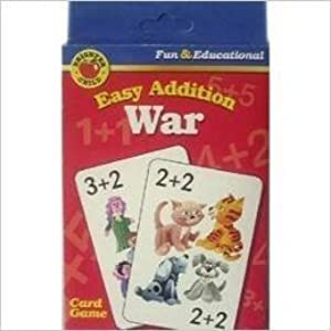 Brighter Child Easy Addition War (Fun & Educational Card Game) by Brighter Child