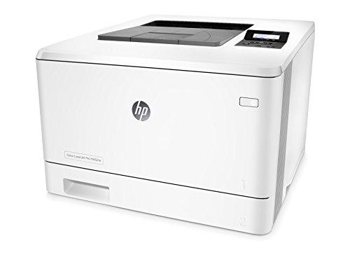 HP LaserJet Pro M452nw (CF388A) Farblaserdrucker (Drucker, Wlan, LAN, ePrint, Cloud Print, AirPrint, USB, 38.400 x 600 dpi) weiß
