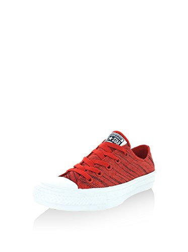 Converse Unisex Chuck Taylor II Ox Basketball Shoe White-red buy cheap 2014 unisex largest supplier online clearance good selling outlet visit new outlet latest collections llOD5