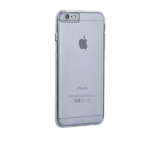 Case-Mate iPhone 6 Plus Barely There Case - Clear (Case Mate Barely There Case Iphone 6)