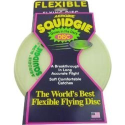 Aerobie Glow in the Dark Squidgie Disk - Colors May Vary by