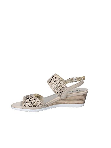 Keys 5271 Wedge Sandals Women Yellow hi5pMAB