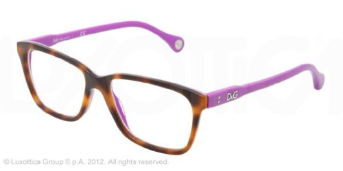 D&G Eyeglasses DD 1238 2608 Havana - & G Eyeglasses D