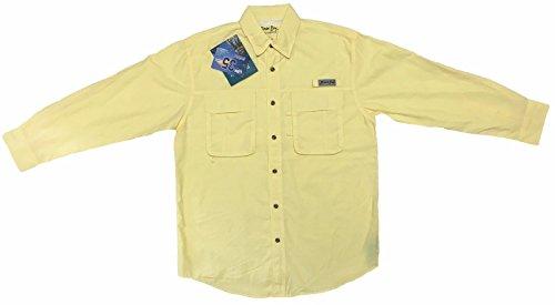 Dick Yellow T-shirt - Bimini Bay Outfitters Bimini Flats III, Color: Sunray, Size: L (21656-SNR-L)