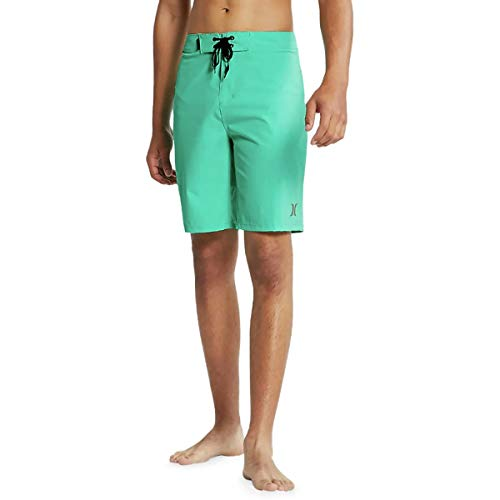 Hurley Men's Phantom One and Only Board Shorts, Hyper Jade, 32 from Hurley
