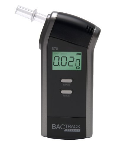 BACtrack Select S-70 Personal/Professional Digital Breathalyzer - Black by BACtrack