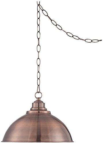 Copper Dome Pendant Light in US - 5