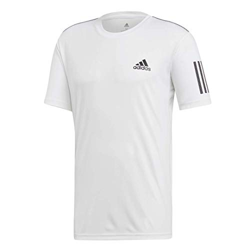 adidas Men's 3-Stripes Club Tennis Tee