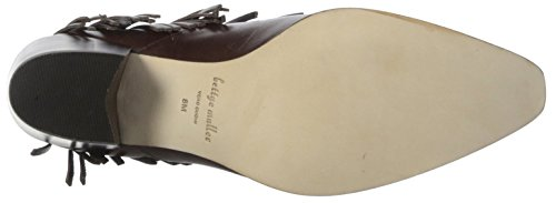 Chocolate Bootie Women's Fringe Bettye Muller WPqf1TS6c