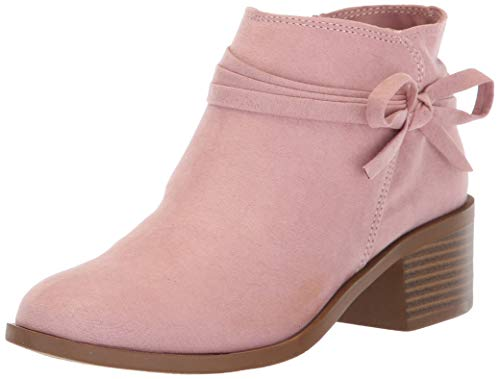 Nine West Girls' CYNDEES Ankle Boot, Dusty Rose, M060 M US Little - West Nine Boots Rubber