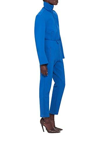 Balenciaga Mujer 457949TTK234760 Azul Viscosa Pantalón