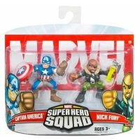Hasbro Marvel Super Hero Squad Ultimate Captain America &...