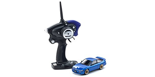 Kyosho Mini-Z MA-020 AWD Sport Blue Nissan Sileighty Micro RC Car with Led Lights Vehicle