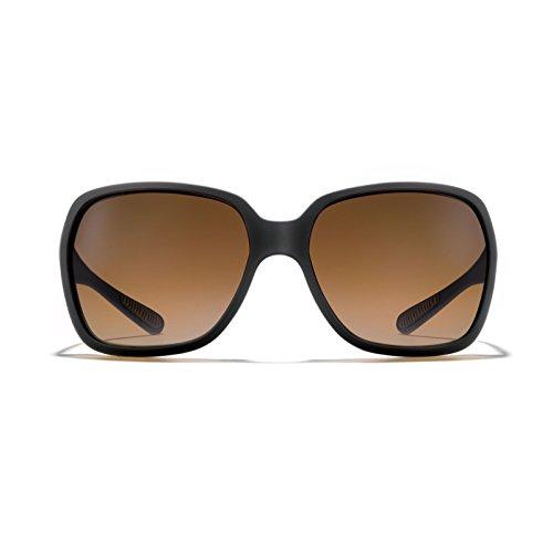 ROKA Monaco Performance Sunglasses for Men and Women Matte Black Frame - Rose Gradient - Sunglasses Roka