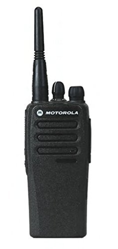 CP200D AAH01QDC9JC2AN Original Motorola Analog & Digital UHF 403-470 MHz Portable Two-way Radio 16 Channels, 4 Watts - Original Package - 2 Year Warranty ... (Motorola Police Radios)
