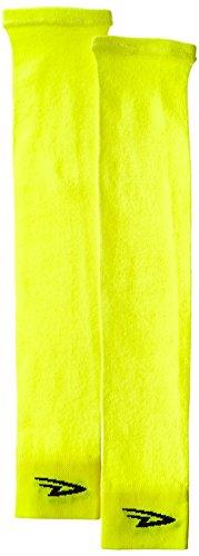 Defeet Armskins Arm Warmers - DEFEET Armskin SL Hi-Vis D-Logo Socks, Small/Medium, Yellow/Black