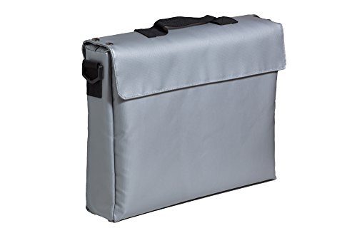 Fireproof Safe Bag For Documents Money & Office File - 15x11x3 Best Housewarming Safety Boss Gifts & Lock Box. Store Home Files In Waterproof Pouch 4 Evacuation 100% Fire Protected Zipper PATENT PEND - Outdoor Pend