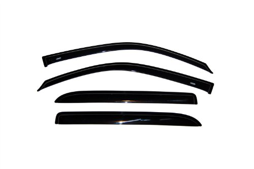 Auto Ventshade 94240 Original Ventvisor Side Window Deflector Dark Smoke, 4-Piece Set for 2002-2006 Chevrolet Trailblazer EXT & GMC Envoy XL, 2004-2006 GMC Envoy XUV, 2003-2008 Isuzu Ascender