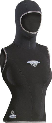 Henderson Hooded Vest (Henderson Women's H2 5/3mm Hooded Vest (Black, 2) )