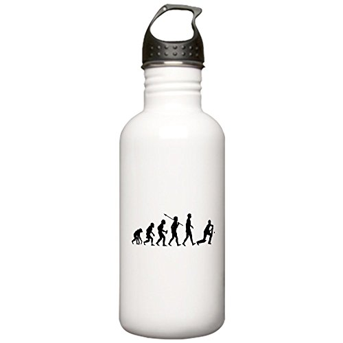 CafePress - Cricket Stainless Water Bottle 1.0L - Stainless Steel Water Bottle, 1.0L Sports Bottle by CafePress