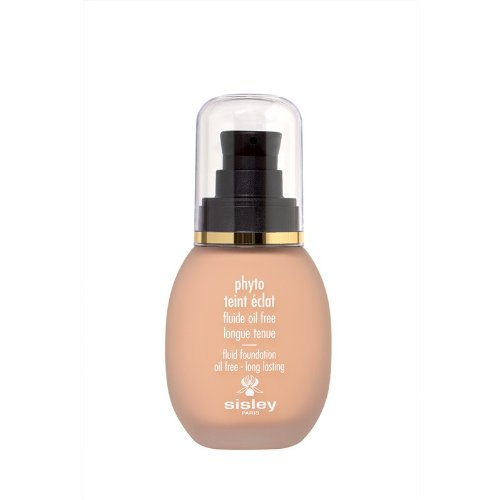 Sisley Phyto Teint Eclat Fluid Foundation Oil Free 2+ Sand for Women, 1 - Sisley Foundation Face