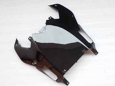 Gloss Black Cowl Lower Under Tail Fairing Aftermarket Painted ABS plastic for 2008-2016 08-16 Yamaha R600 YZF-R6 2009 2010 2011 2012 2013 2014 2015 (Yzf Lower R6)