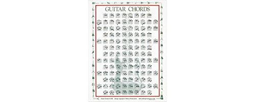 laminated guitar chord chart - 2