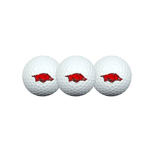 Arkansas Razorbacks Golf Ball Pack of 3