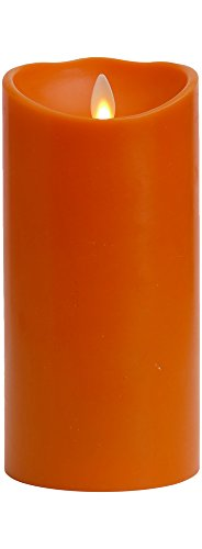 Liown Halloween Flameless Candle: Pumpkin Scented Moving ...