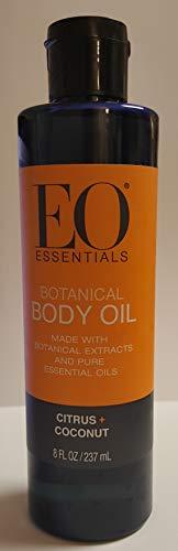 EO Essentials Botanical Body Oil, Citrus + Coconut 8 fl oz