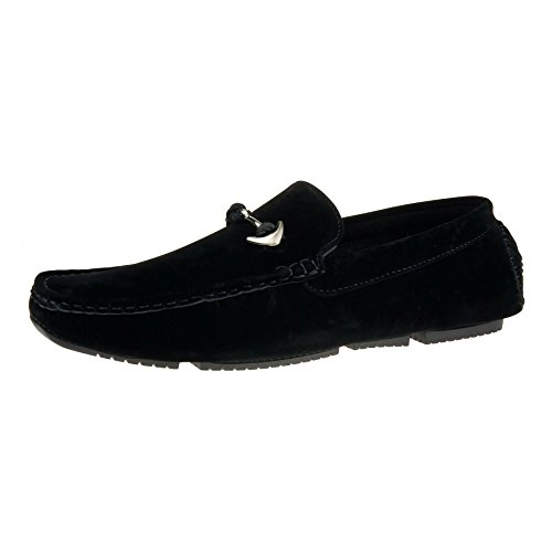 New Mens Slip On Casual Boat Deck Moccasin Designer Loafers Driving Shoes Size Black 3VDEdayd