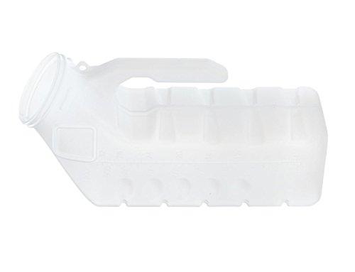 Medline DYND80235SNL Supreme Urinals, Male, Supreme, Clear (Pack of 48)