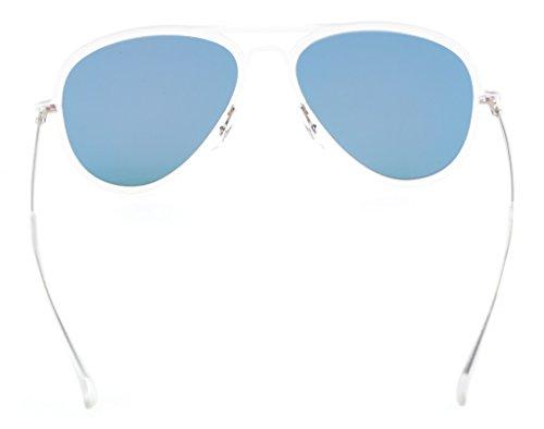 Eyekepper Flash Green Mirror Polarized Sunglasses Titanium Temple TR-90 Frame by Eyekepper (Image #3)