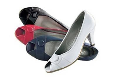 Zapatos de cuero negro de la Conti Nero (nero)