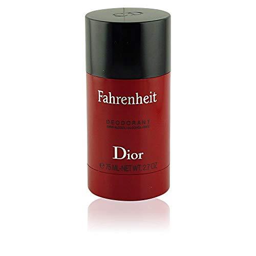 Fahrenheit By Christian Dior For Men. Deodorant Stick Alcohol-Free 75 Ml - Net Wt. 2.7 Oz. (75 Ml Alcohol)