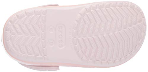 Crocs Crocband Kids Clocs Pink Ice Pop Barely qOwnrqv7d