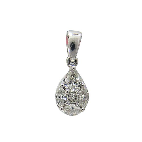 0.34 Ct Pear Diamond - 3